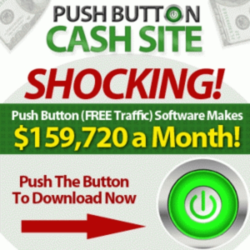 Product picture *BestSeller* Push Button Cash Site